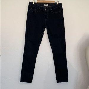 Paige skyline skinny jeans dark wash size 32